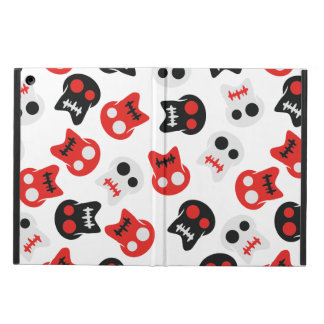 Comic Skull colorful pattern iPad Air Case