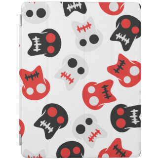 Comic Skull colorful pattern iPad Cover