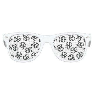 Comic Skull colorful pattern Kids Sunglasses