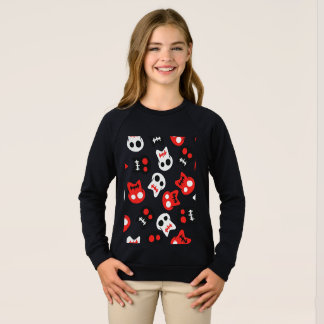 Comic Skull colorful pattern Sweatshirt