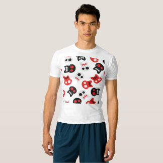 Comic Skull colorful pattern T-shirt