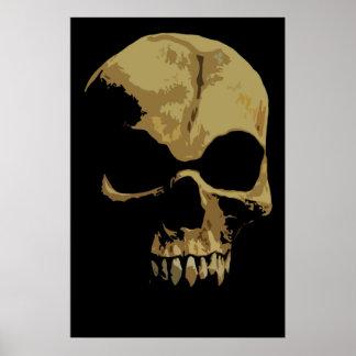 Comic Skull poster