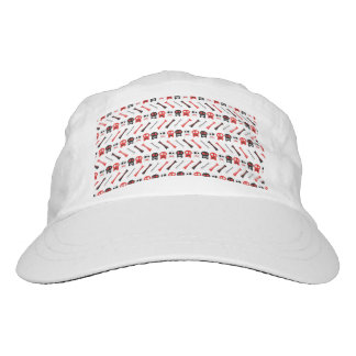 Comic Skull with bones colorful pattern Hat