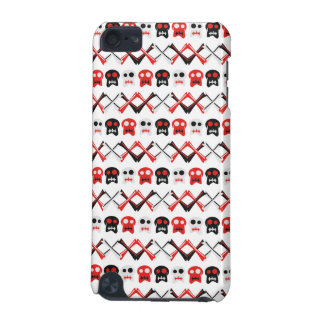 Comic Skull with crossed bones colorful pattern iPod Touch 5G Case