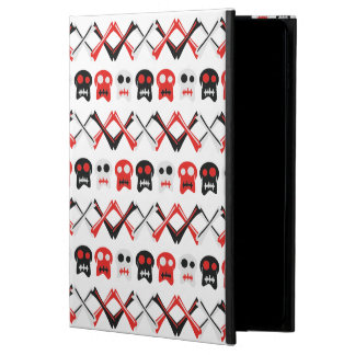 Comic Skull with crossed bones colorful pattern Powis iPad Air 2 Case