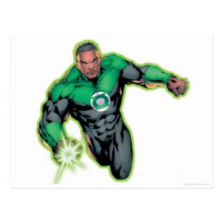 Comic Style - Green Lantern Postcard