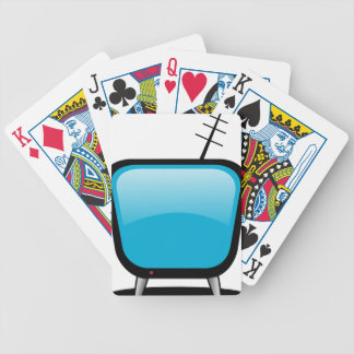 Comic TV Bicycle Playing Cards