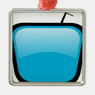 Comic TV Metal Ornament