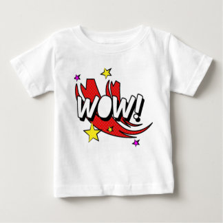 Comic Wow Sticker Baby T-Shirt