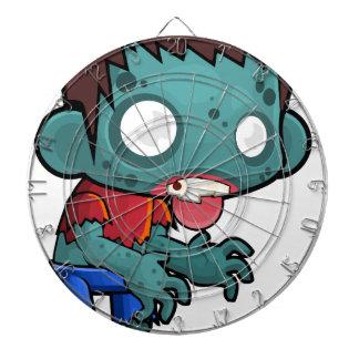 Comic Zombie Boy Dartboard