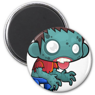 Comic Zombie Boy Magnet