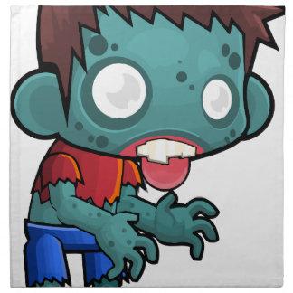Comic Zombie Boy Napkin