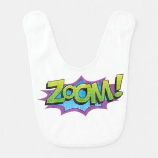 Comic Zoom! Bib