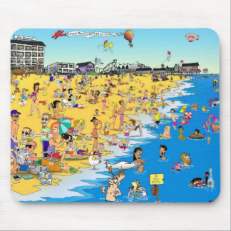 Comical OOB Mousepad