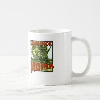 ComicBookUtopiaRetroMug Basic White Mug