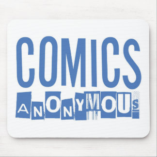 Comics Anonymous Merch Mousepads