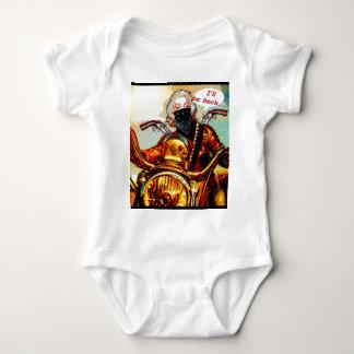 comics biker big baby bodysuit