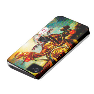 comics biker big iPhone 4 case