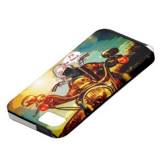 comics biker big iPhone 5 cases