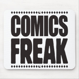 Comics Freak Mouse Pads