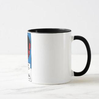 Comics Industry for Obama Ringer Mug