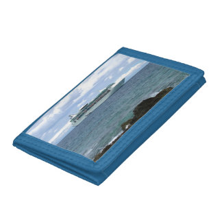 Coming Ashore Trifold Wallet
