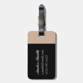 Coming home luggage tag