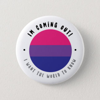 Coming Out - Bisexual Button