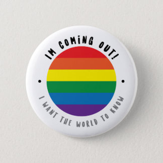 Coming Out - Gay 2 Inch Round Button