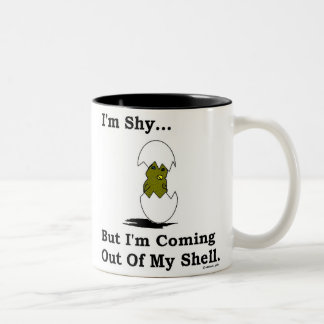 Coming Out of My Shell Two-Tone Coffee Mug