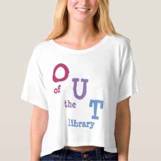 Coming Out off has Bisexual Bookworm T-shirt
