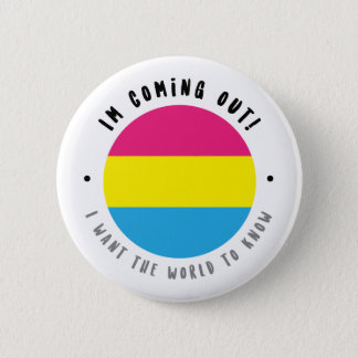 Coming Out - Pansexual 2 Inch Round Button