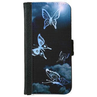 Coming to Life Butterflys iPhone 6 Wallet Case