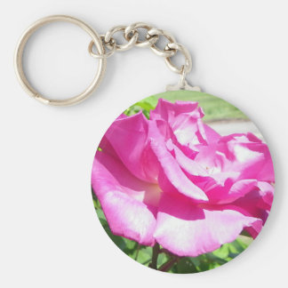 Coming up Roses Basic Round Button Keychain