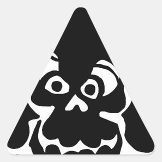Comique, art de bruit autocollants en triangle