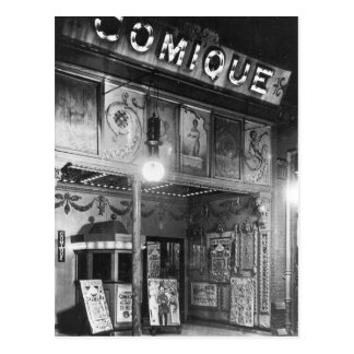 Comique Theatre Postcard