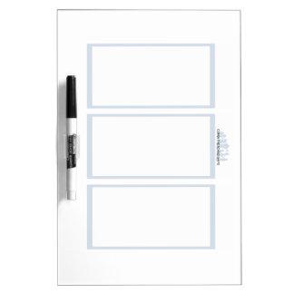 Comix the Board Game- 3 Panel Medium Whiteboard Dry Erase Whiteboard