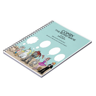 Comix The Board Game- Notebook