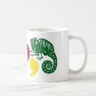 CommaChameleon Coffee Mug