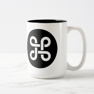 Command Apple Mac Ideology Two-Tone Coffee Mug