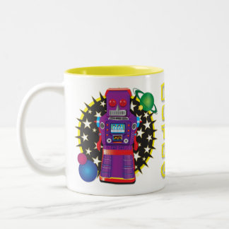 Command Bot Mug Design
