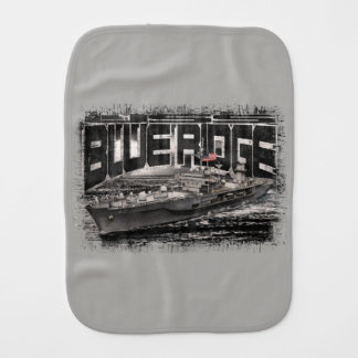 Command ship Blue Ridge Burp Cloth Burp Cloth