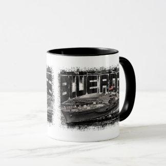 Command ship Blue Ridge Combo Mug