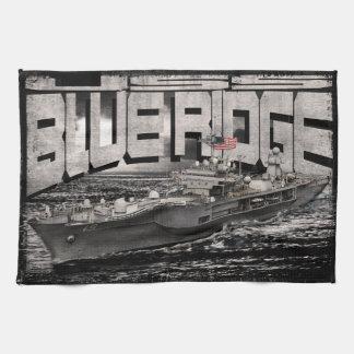 Command ship Blue Ridge Kitchen Towels
