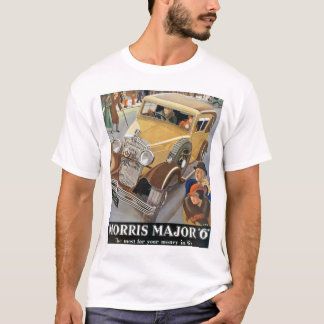 """Commandant """"6"""" de Morris annonce d'automobile T-shirt"""