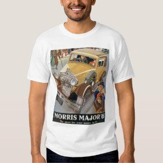 """Commandant """"6"""" de Morris annonce d'automobile Tee Shirts"""