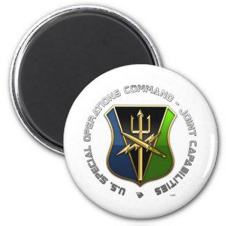 Commande d'opérations spéciales - capacités commun magnet rond 8 cm
