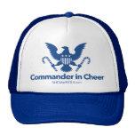 """""""Commander in Cheer"""" trucker hat"""