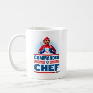 Commander in Chef Basic White Mug