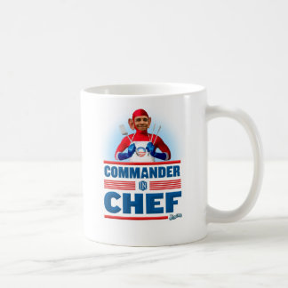 Commander in Chef Coffee Mugs